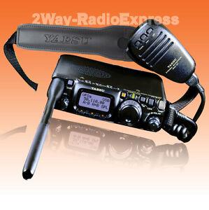 YAESU FT-817ND All-Mode HF/VHF/UHF Handie-Portable Transceiver UNBLOCKED TX!