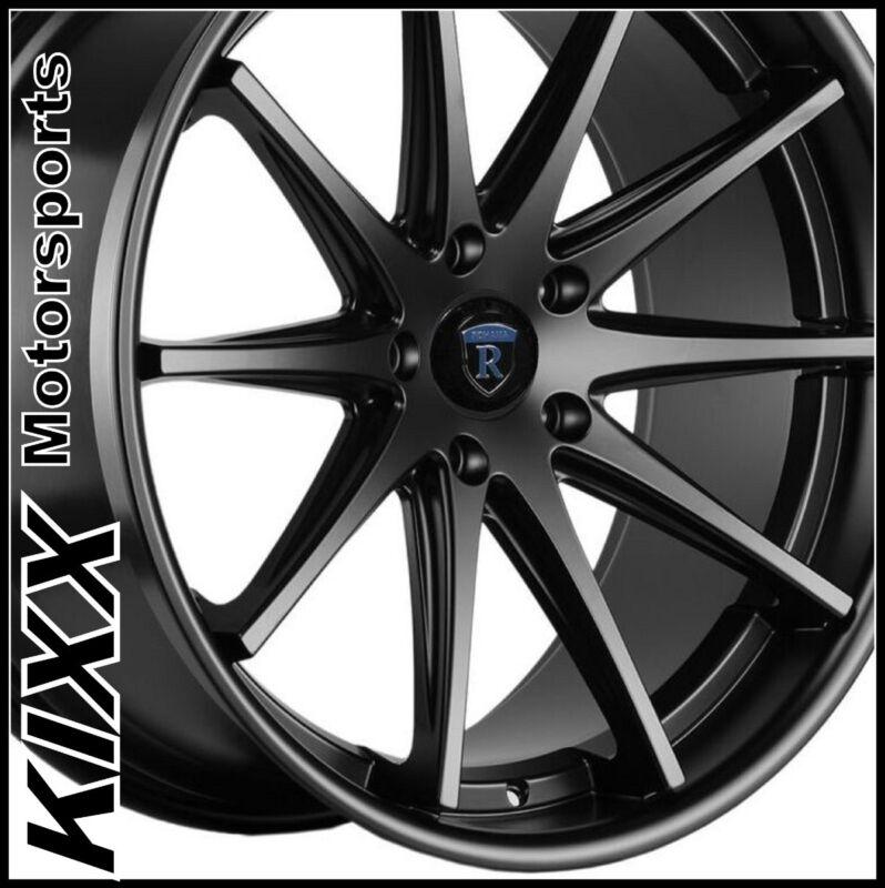 "19"" Rohana Rc10 Black Wheels Rims Fits Lexus Is250 Is350"