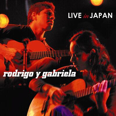 Rodrigo Y Gabriela LIVE IN JAPAN Gatefold NEW SEALED RED COLORED VINYL 2 LP Color Red Japan