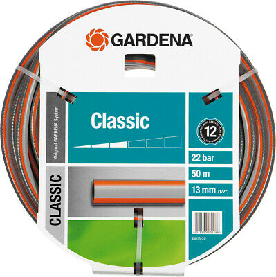 Gardena Classic Hose 18010-20 1/2 50m Pvc-Garten Pressure-Proof 22 bar 13 MM