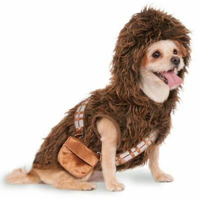 Rubies Star Wars Chewbacca Kapuzenpullover Haustiere Hunde Tiere - Chewbacca Kostüm Hund