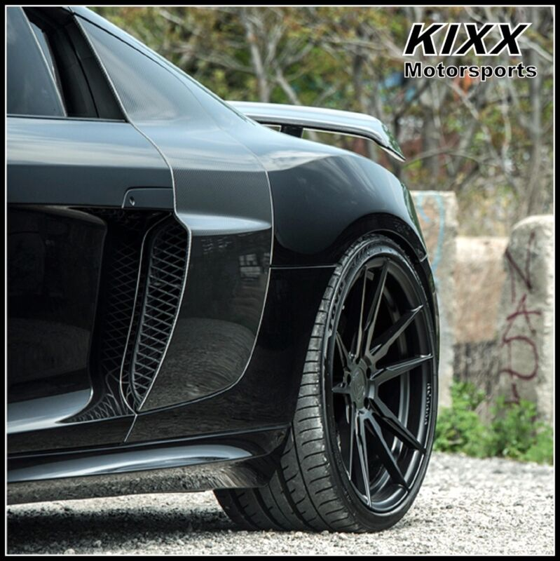20 Rohana Rf2 20x9+35 20x11+30 Forged Black Concave Wheels For Audi R8