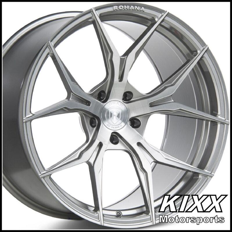 "20"" Rohana Rfx5 20x9 Forged Titanium Concave Wheels Rims For Infiniti G37x (awd)"