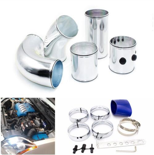 3'' Air Filter Turbo Intake Intercooler Piping Cold/ Hot Pipe Hose Alu