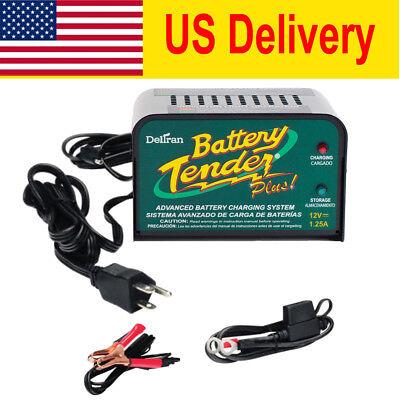 Super Smart 1Pk Volt Battery Tender Plus Battery Charger 021 0128 Maintainer 12V