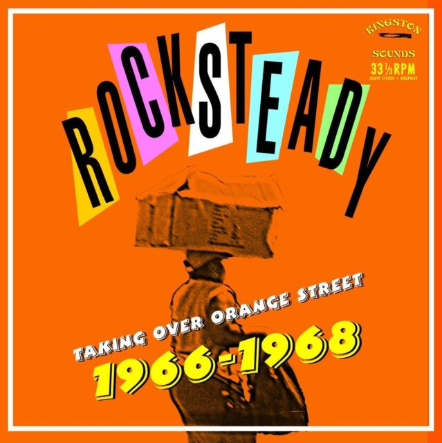 Rocksteady Taking Over Orange Street 1966-1968 NEW VINYL LP KINGSTON SOUNDS SKA