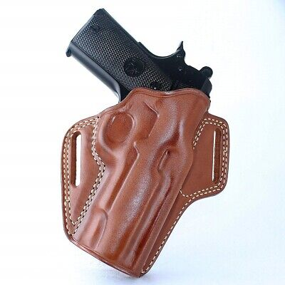 "Leather Pancake Holster Fits Browning 1911 380 Black Label 380 ACP 4.25"" #1347#"