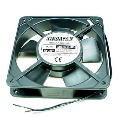 Lüfter 230V 120mmx120mmx25mm Fan Ventilator Axialluefter  220V - 240V  Neu