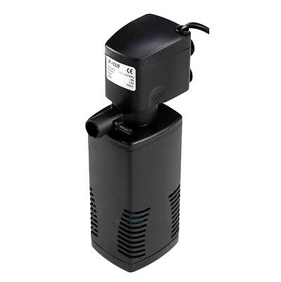 Aquarium Internal Powerhead Filter Multi-Function Pump 40 Gal Fish Tank 160 GPH