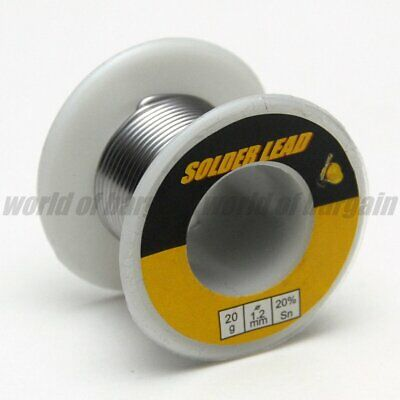 8020 Solder Lead Tin Soldering Electronic Circuit 20g 1.2mm Welding Flux Wire