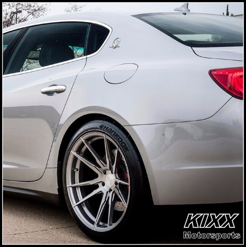 "20"" Rohana Rf2 20x9/10 Forged Titanium Concave Wheels For Maserati Quattroporte"