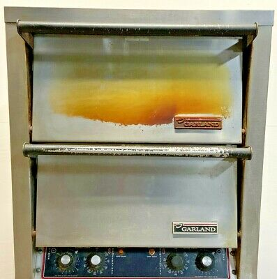 Garland Double Deck 26 Commercial Electric Pizza Oven Cpo-ed-24h 240v 1-3ph E5a