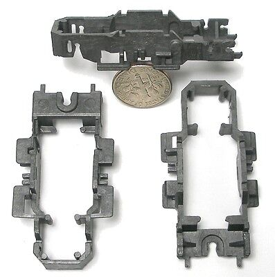 3 Tyco Hp 440 Wide Pan Gray Slot Car Chassis Shells Unused Stock Factory Blanks