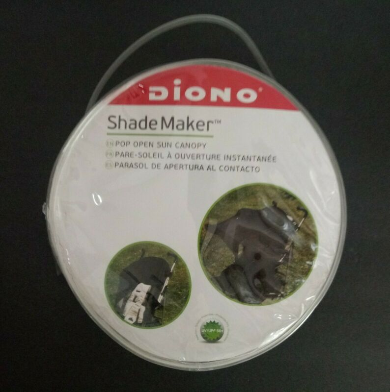 New DIONO Shade Maker Canopy Stroller Shade, Black