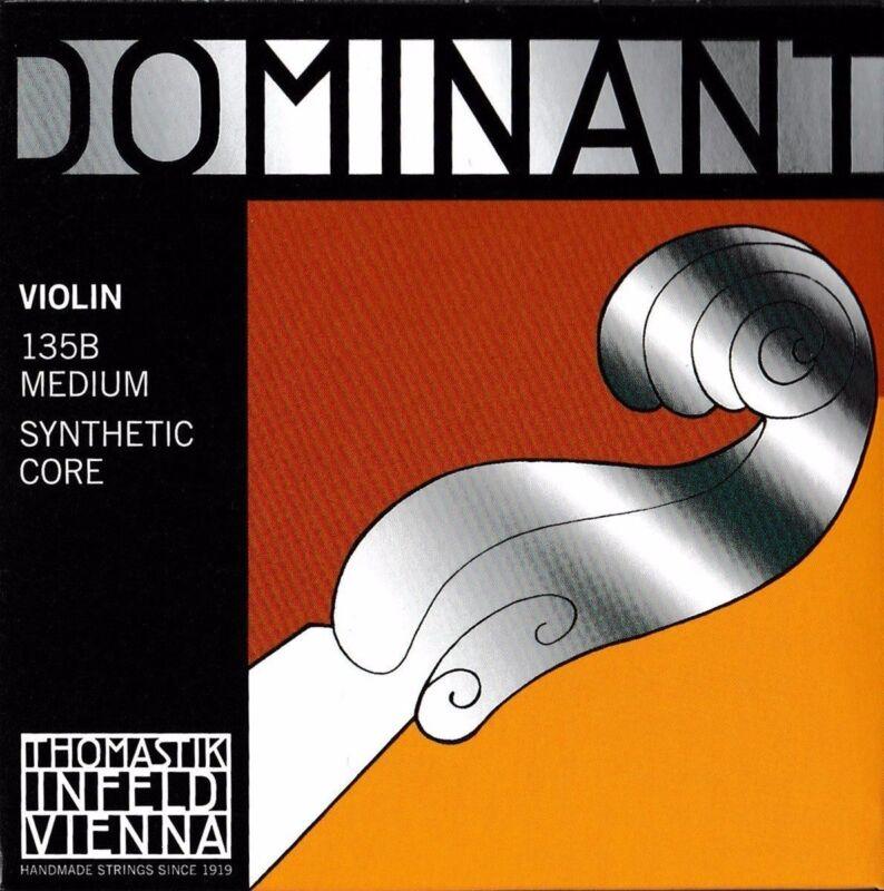 D***Thomastik Dominant 135B Violin String Set 4/4 Size E Ball ***^_^***
