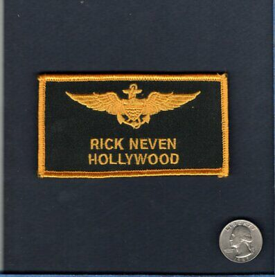 Rick HOLLYWOOD Neven TOP GUN MOVIE US NAVY Squadron Halloween Costume Patch](Us Navy Halloween Costumes)