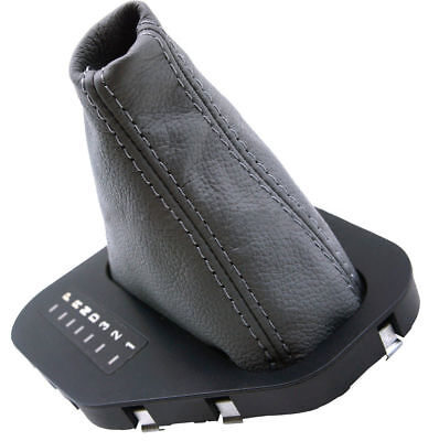Automatic Shift Boot Real Leather BMW E39 525 528 530 For 96-03 Gray