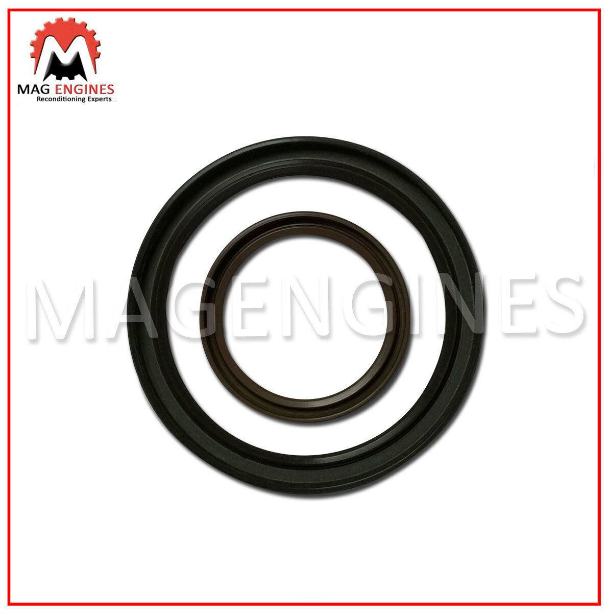 FRONT & REAR OIL SEALS FOR NISSAN YD25 D22 NAVARA PICK UP & FRONTIER 2.5 01-06