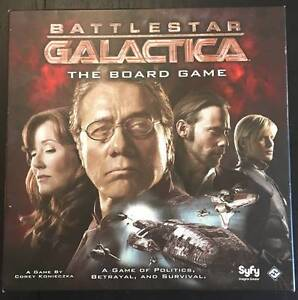 Battlestar Galactica Board Game - Mint Condition Annerley Brisbane South West Preview