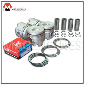 PISTONS & RING SET ISUZU 4JB1-T FOR TROOPER BIGHORN FASTER 2.8 LTR DIESEL 93-04