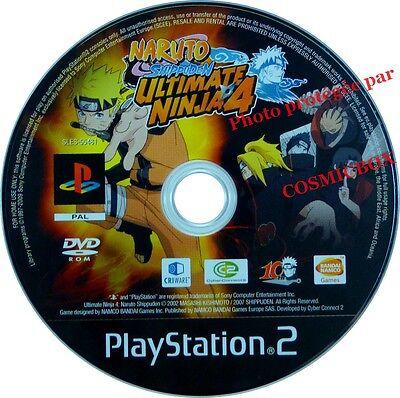NARUTO SHIPPUDEN ULTIMATE NINJA 4 - jeu video console sony PS2 PlayStation 2 pal