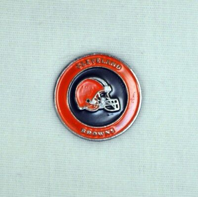 NFL Cleveland Browns 2 Sided Ball Marker - Free Shipping - 30770