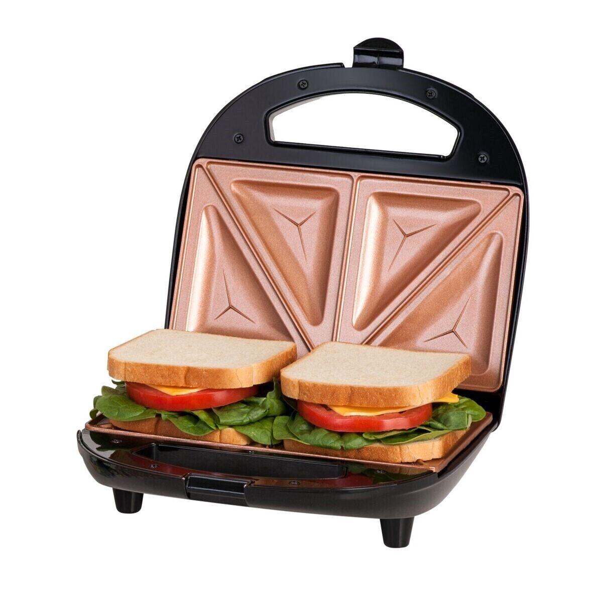 Gotham Steel Nonstick Portable Sandwich Maker & Panini Grill