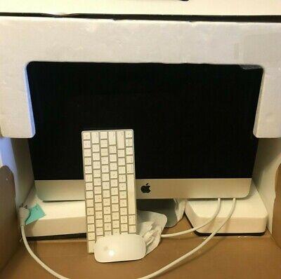 "Apple iMac + Accessories Retina 4K, 21.5"" 3GHz 8GBRAM 1TB HDD PERFECT CONDITION"