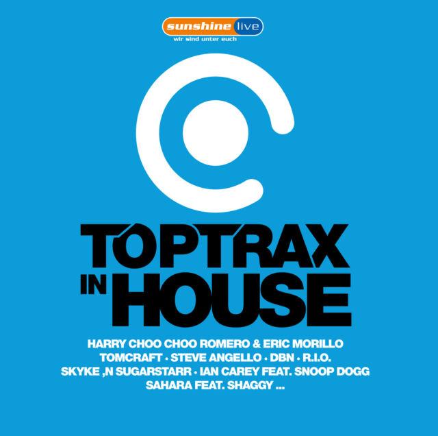 CD Toptrax In House von Various Artists  2CDs
