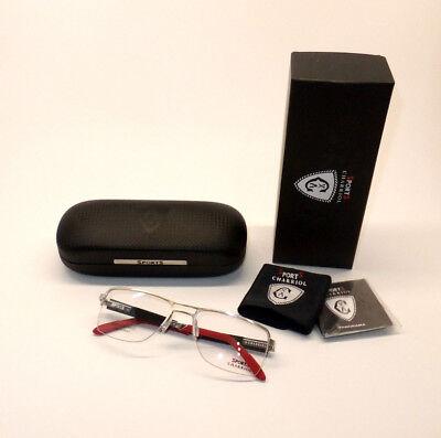 Charriol Sports SP 23004 C6 Men Eyewear Optical Frame DEMO Lenses Carbon Z7/16