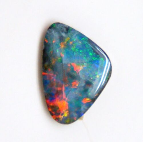 2.44 ct. AUSTRALIAN  DOUBLET OPAL CABOCHON 4 DESIGNER JEWELRY/ COLLECTIBLE