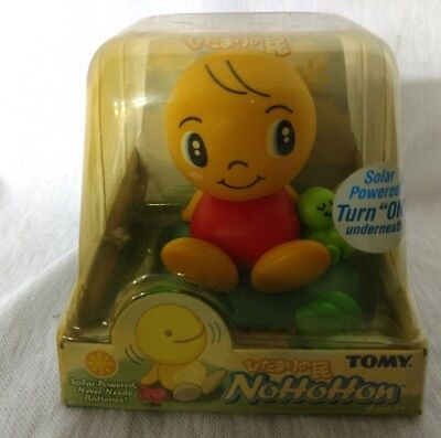 Rare Tony yellow Nohohon with buddy sleeping baby bobble head