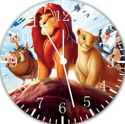 Lion King wall Clock 10 will be nice Gift and Room wall Decor E120