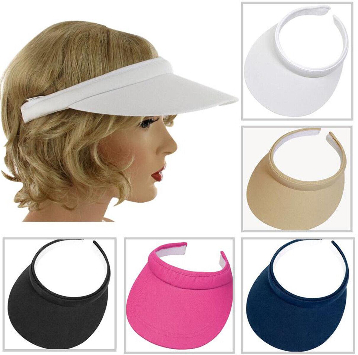 VISOR CAP Steckvisor Sonnenblende Unisex Kappe Schild Sport Golf Tennis Urlaub