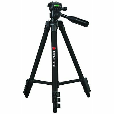 Agfaphoto 50 Pro Tripod With Case For Olympus Vr-330 Vr-320 Vr-310