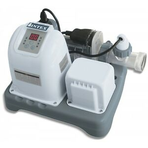 Intex Saltwater System Above Ground Pool Salt Chlorinator