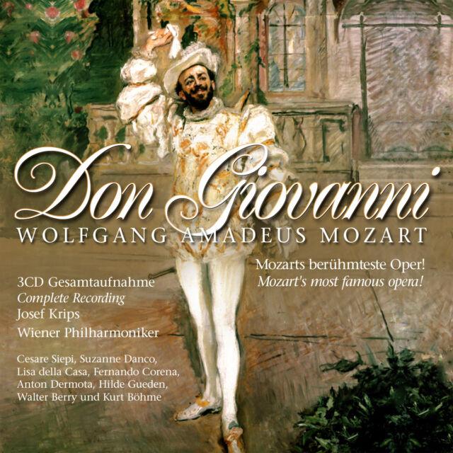 CD Mozart Don Giovanni 3CDs Wiener Philharmoniker, Complete Recording