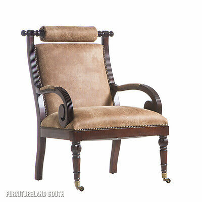 Henredon Furniture Upholstery Living Room Accent Arm Chair on ...