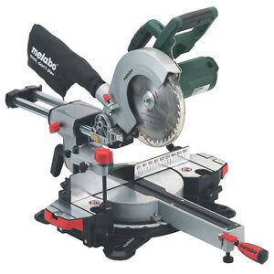 Metabo KGS216M Laser Slide Compound Mitre Saw – 240 Volt