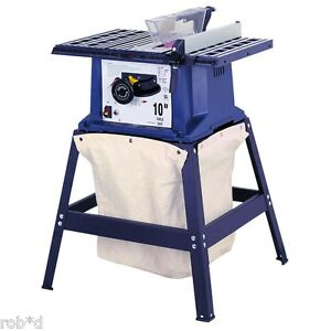 Table Saw Dust Collector Bag Canvas Easy To Install Fits Most Brands Wood Shop Ebay