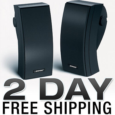 Bose 251 Weatherproof Outdoor Speakers Pair Black