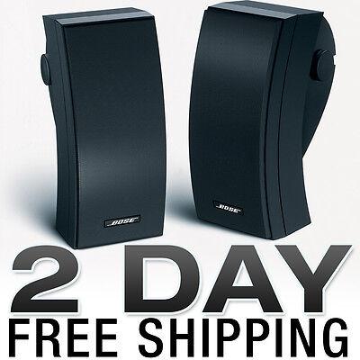 Bose 251 Weatherproof Outdoor Speakers Pair Black