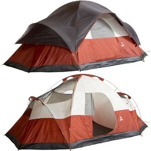 COLEMAN-RED-CANYON-8-PERSON-MAN-17-MODIFIED-DOME-TENT-FAMILY-SCOUTING-CAMPING