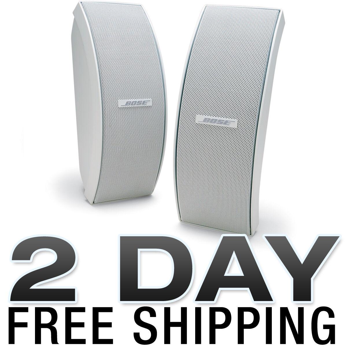 Bose 151 Se Weatherproof Outdoor Speakers White