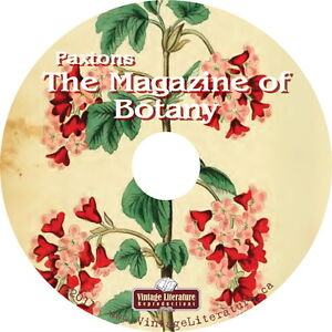 Paxtons-Magazine-of-Botany-Register-of-Flowering-Plants-1834-Magazine-on-DVD