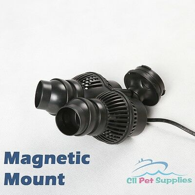Circulation Pump Wave Maker 1600 GPH Aquarium Reef Powerhead Magnetic Mount