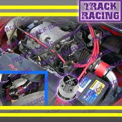 97 98 99 00 01 02 03 Chevy Malibu Base\ls 3.1l V6 Cold Air Intake Kit+chf Red 2p