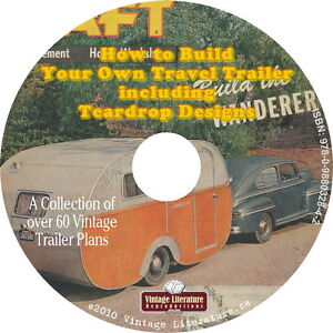 How-To-Build-Vintage-Camper-Trailer-TearDrop-Plans-on-DVD-Top-100-Title
