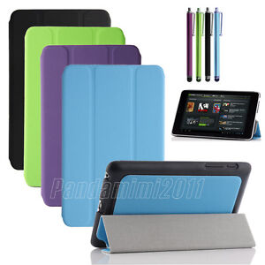 Multi-color-Slim-Magnetic-PU-Leather-Stand-Case-Smart-Cover-For-Google-Nexus-7