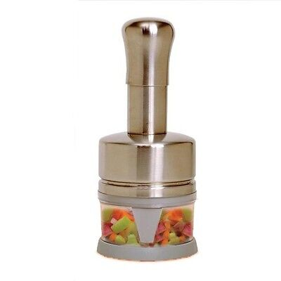 Norpro 842 Fruit Vegetable Nut Chopper 1 CUP 18/10 Stainless Steel